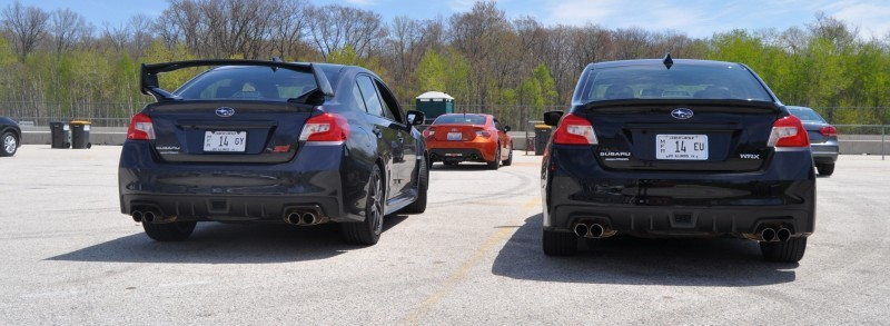 Updated with 37 High-Res Photos - Track Review - 2015 Subaru WRX Automatic 23