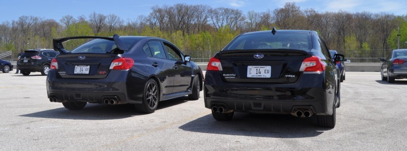 Updated with 37 High-Res Photos - Track Review - 2015 Subaru WRX Automatic 24