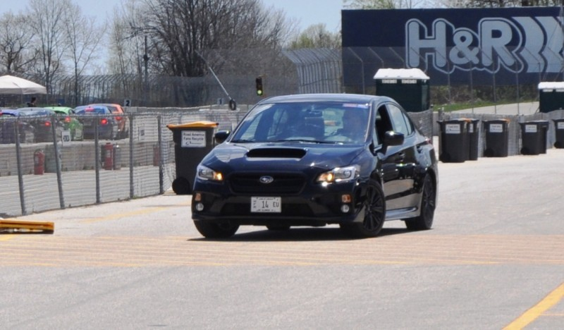 Updated with 37 High-Res Photos - Track Review - 2015 Subaru WRX Automatic 28