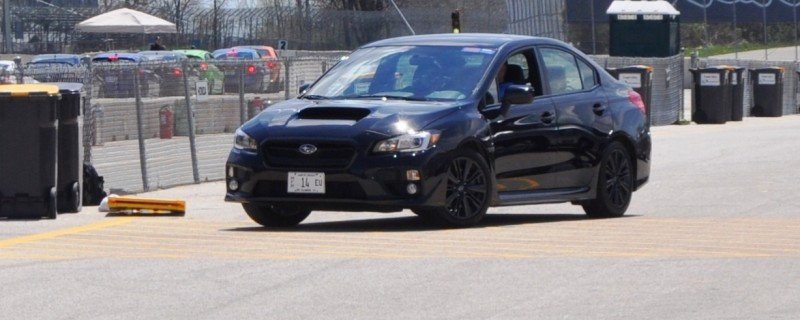 Updated with 37 High-Res Photos - Track Review - 2015 Subaru WRX Automatic 30