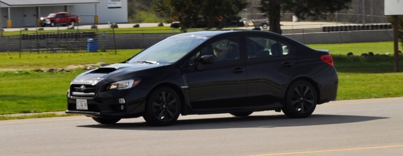 Updated with 37 High-Res Photos - Track Review - 2015 Subaru WRX Automatic 34