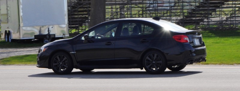 Updated with 37 High-Res Photos - Track Review - 2015 Subaru WRX Automatic 36