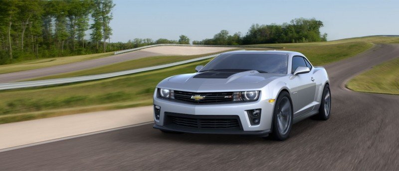 Updated with 40 New Photos - 2014 Chevrolet Camaro ZL1 Convertible Blasts Off for 3.9-second 60-mph Sprints 1