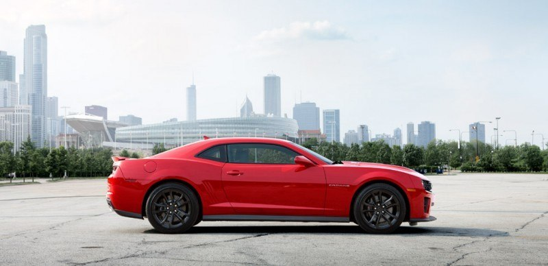 Updated with 40 New Photos - 2014 Chevrolet Camaro ZL1 Convertible Blasts Off for 3.9-second 60-mph Sprints 15