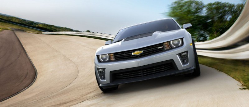 Updated with 40 New Photos - 2014 Chevrolet Camaro ZL1 Convertible Blasts Off for 3.9-second 60-mph Sprints 5