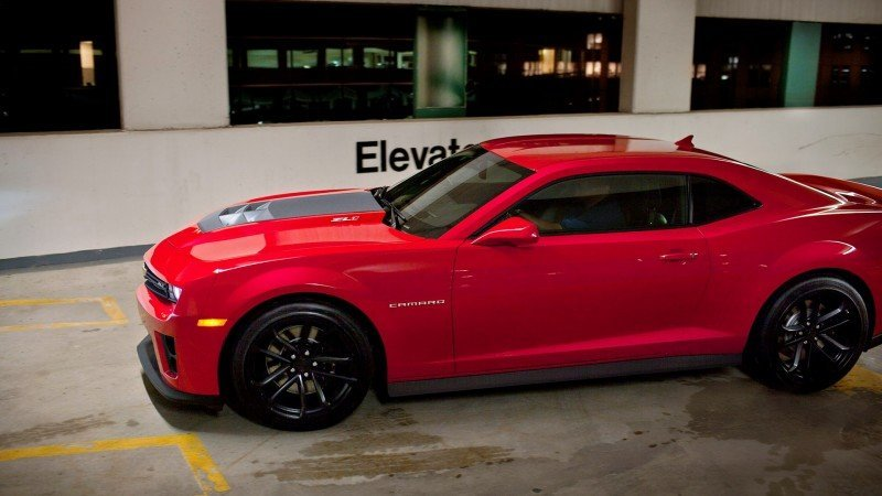 Updated with 40 New Photos - 2014 Chevrolet Camaro ZL1 Convertible Blasts Off for 3.9-second 60-mph Sprints 65
