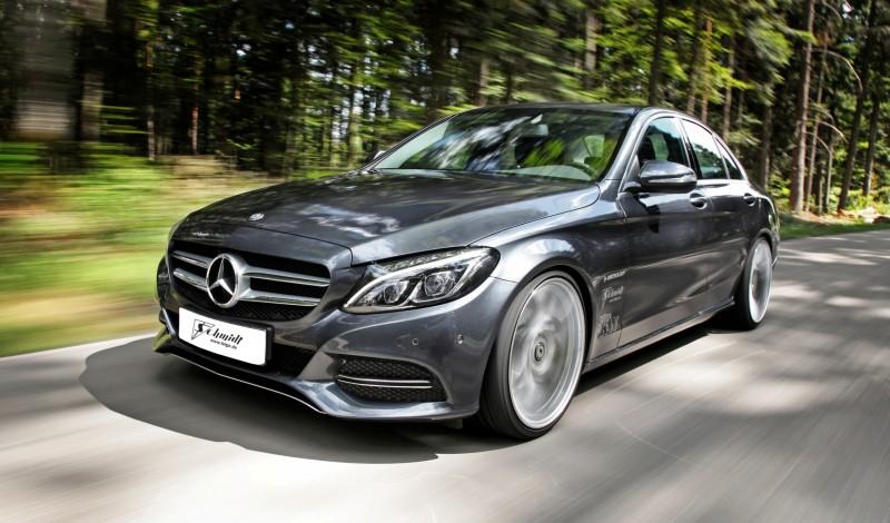 VOLKER SCHMIDT 2015 Mercedes-Benz C-Class W205  15