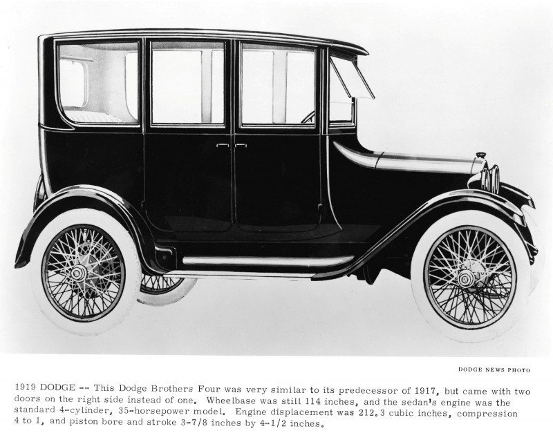 PART ONE! DODGE Hits 100-Year Anniversary of First Car in 1914 ...