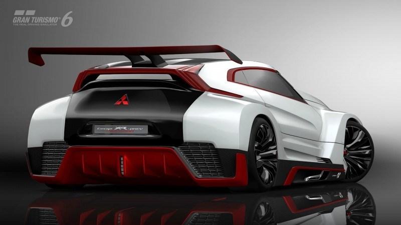 Vision GranTurismo Scores a Super Evo! Mitsubishi Concept XR-PHEV is Super Widetrack Racer 70