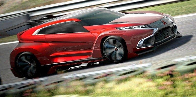 Vision GranTurismo Scores a Super Evo! Mitsubishi Concept XR-PHEV is Super Widetrack Racer 71