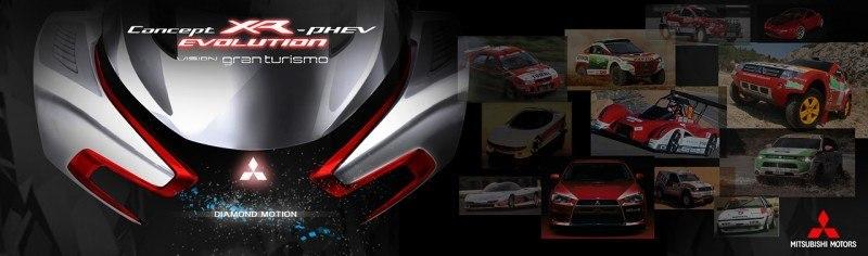 Vision GranTurismo Scores a Super Evo! Mitsubishi Concept XR-PHEV is Super Widetrack Racer 72