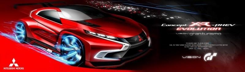Vision GranTurismo Scores a Super Evo! Mitsubishi Concept XR-PHEV is Super Widetrack Racer 76
