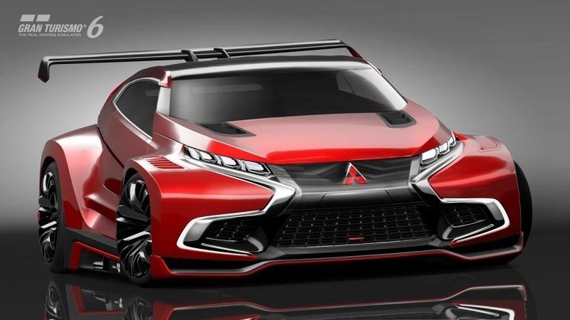 Vision GranTurismo Scores a Super Evo! Mitsubishi Concept XR-PHEV is Super Widetrack Racer 81