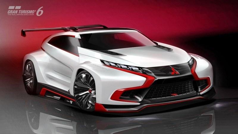Vision GranTurismo Scores a Super Evo! Mitsubishi Concept XR-PHEV is Super Widetrack Racer 84