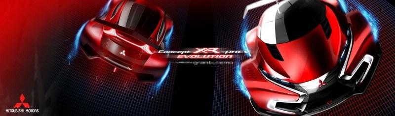 Vision GranTurismo Scores a Super Evo! Mitsubishi Concept XR-PHEV is Super Widetrack Racer 85