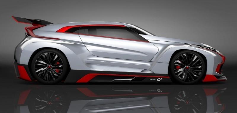 Vision GranTurismo Scores a Super Evo! Mitsubishi Concept XR-PHEV is Super Widetrack Racer 87