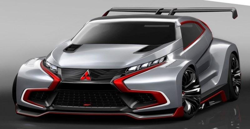 Vision GranTurismo Scores a Super Evo! Mitsubishi Concept XR-PHEV is Super Widetrack Racer 90