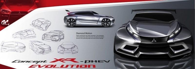 Vision GranTurismo Scores a Super Evo! Mitsubishi Concept XR-PHEV is Super Widetrack Racer 91