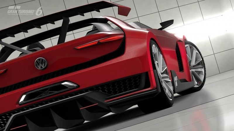 Volkswagen GTI Roadster Vision Gran Turismo Scores 4Motion and 500HP Twin-Turbo VR6 30