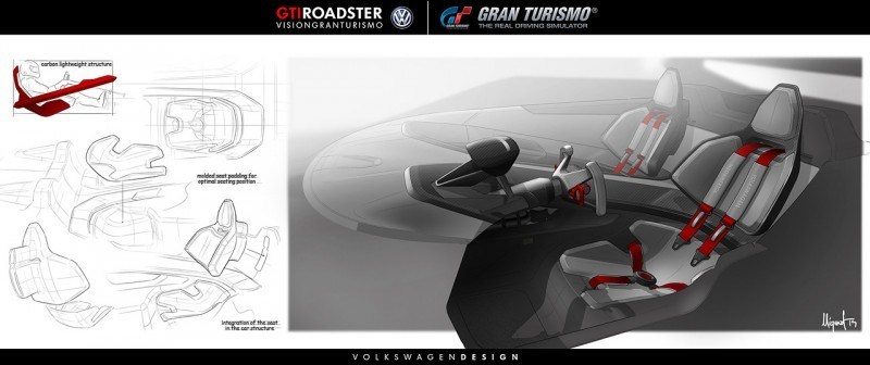Volkswagen GTI Roadster Vision Gran Turismo Scores 4Motion and 500HP Twin-Turbo VR6 31