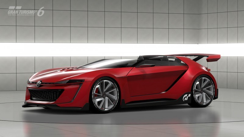 Volkswagen GTI Roadster Vision Gran Turismo Scores 4Motion and 500HP Twin-Turbo VR6 33