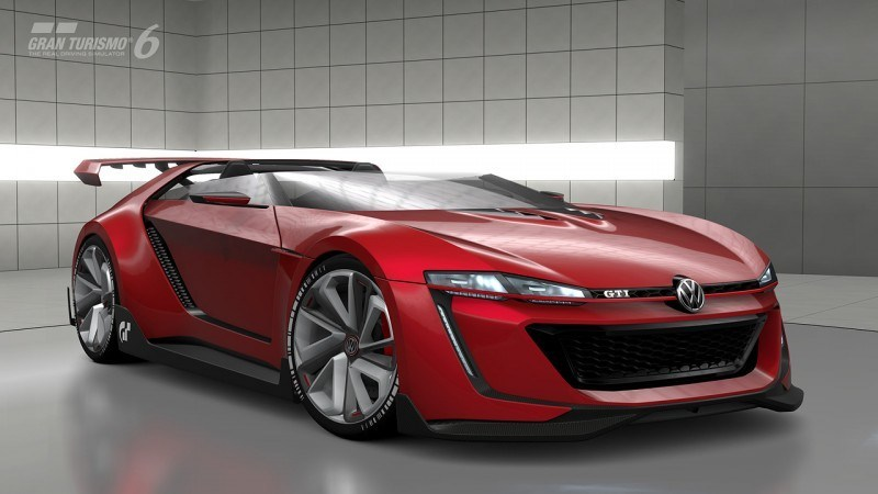 Volkswagen GTI Roadster Vision Gran Turismo Scores 4Motion and 500HP Twin-Turbo VR6 37