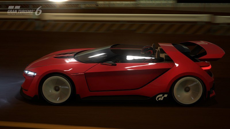 Volkswagen GTI Roadster Vision Gran Turismo Scores 4Motion and 500HP Twin-Turbo VR6 41
