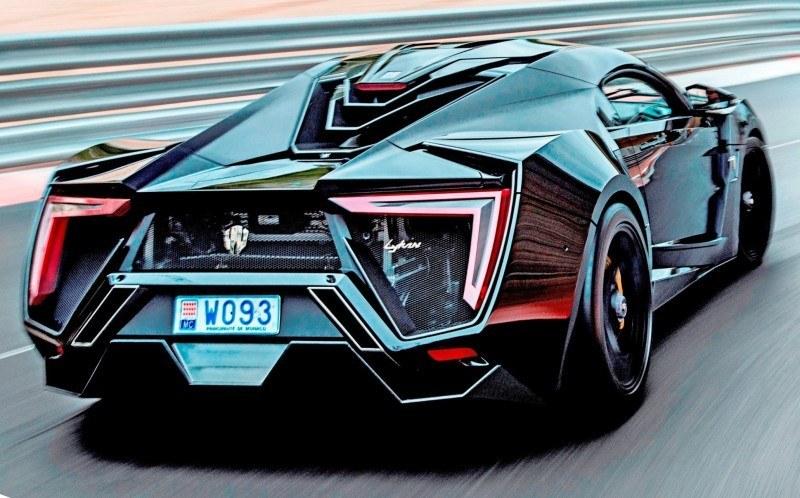 W Motors Lykan Monaco