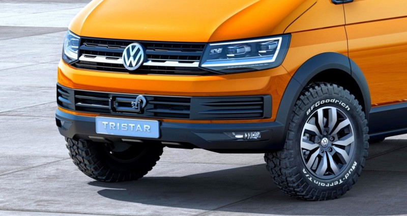 2014 Volkswagen Tristar Is All New Off Road Cargo Van With