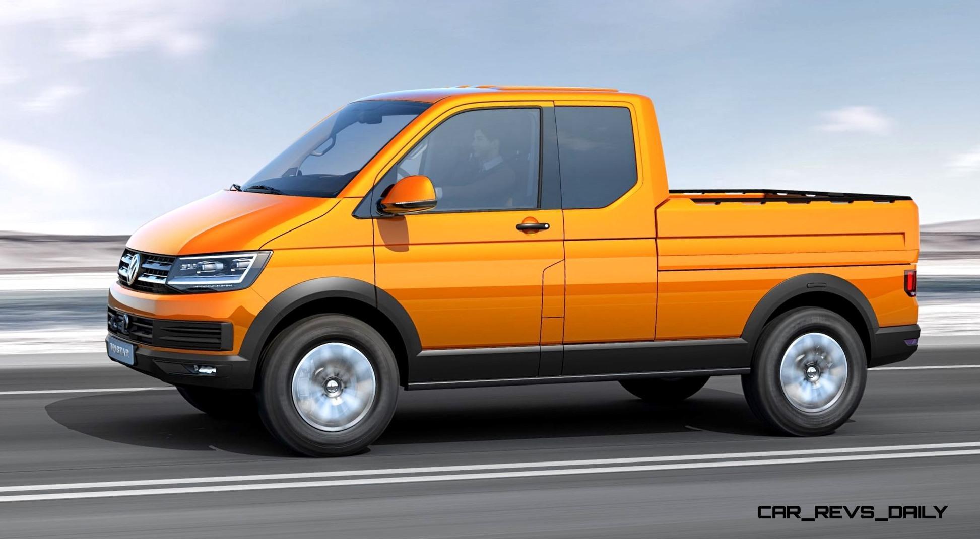2014 Volkswagen Tristar Is All New Off Road Cargo Van With