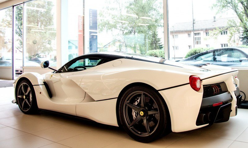 White LaFerrari Snapped in Geneva This Week by N-D Photography 2