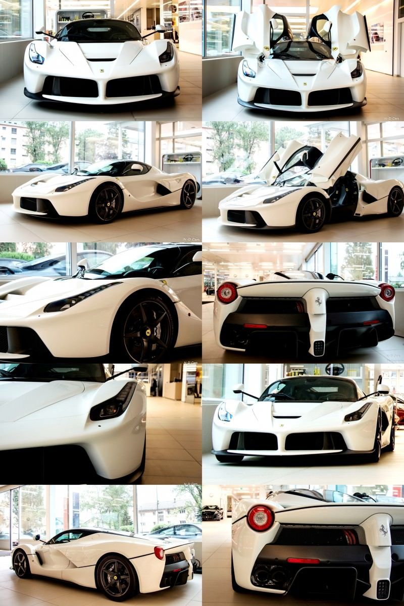 White LaFerrari Snapped in Geneva This Week by N-D Photography 8-tile