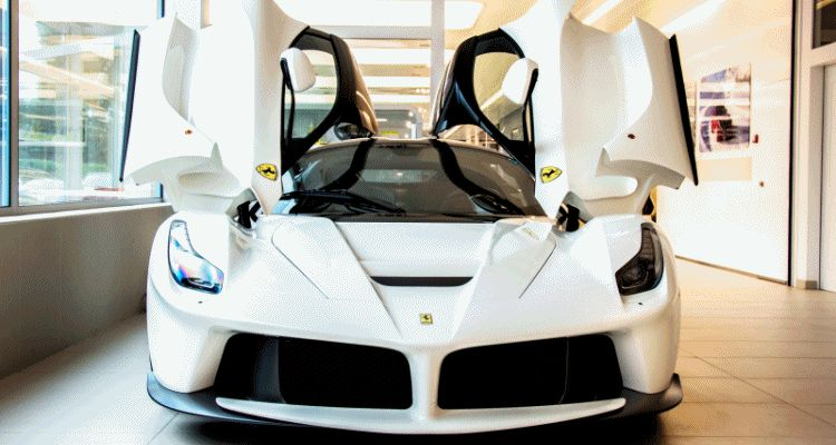 White LaFerrari Snapped in Geneva This Week by N-D Photography GIF header1