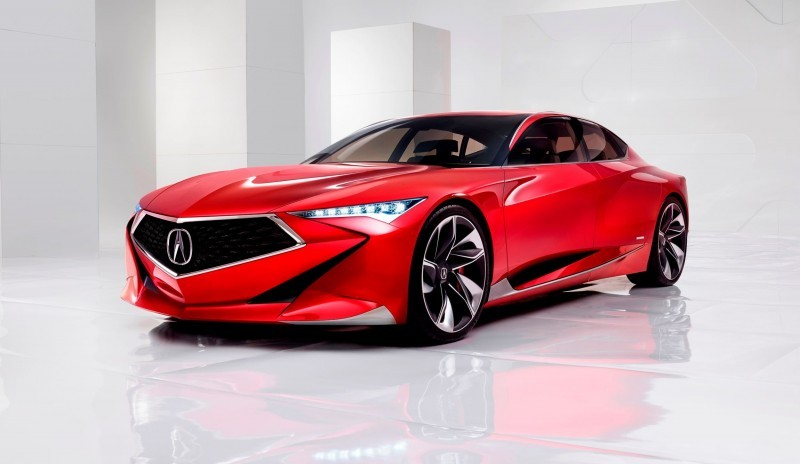 Worst of NAIAS - 2016 Acura Precision Concept 1