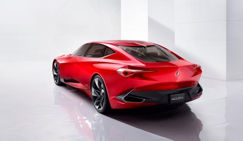 Worst of NAIAS - 2016 Acura Precision Concept 2