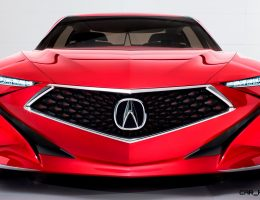 Update1 – 2016 Acura Precision Concept – Design Reboot Ruined By Another Fugly Nose