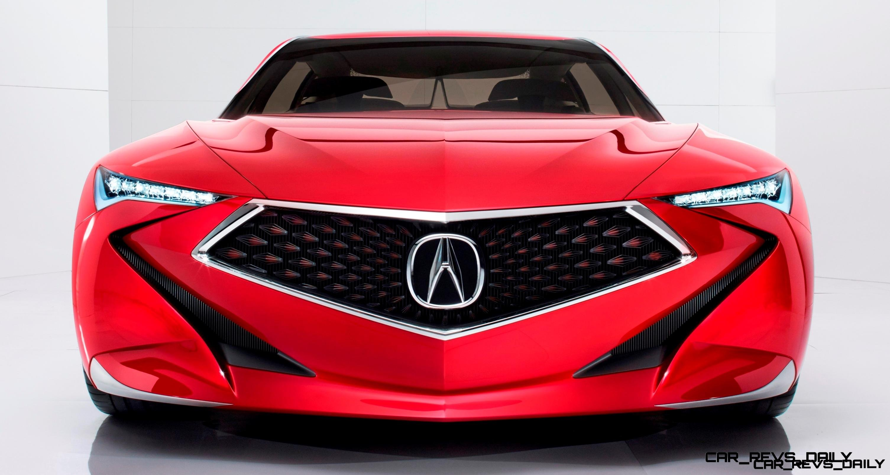 Worst of NAIAS - 2016 Acura Precision Concept 3