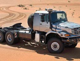 2016 Mercedes-Benz ZETROS – Next-Gen Heavy Hauler Combines 6×6 Grip, 110-Ton Max GVWR