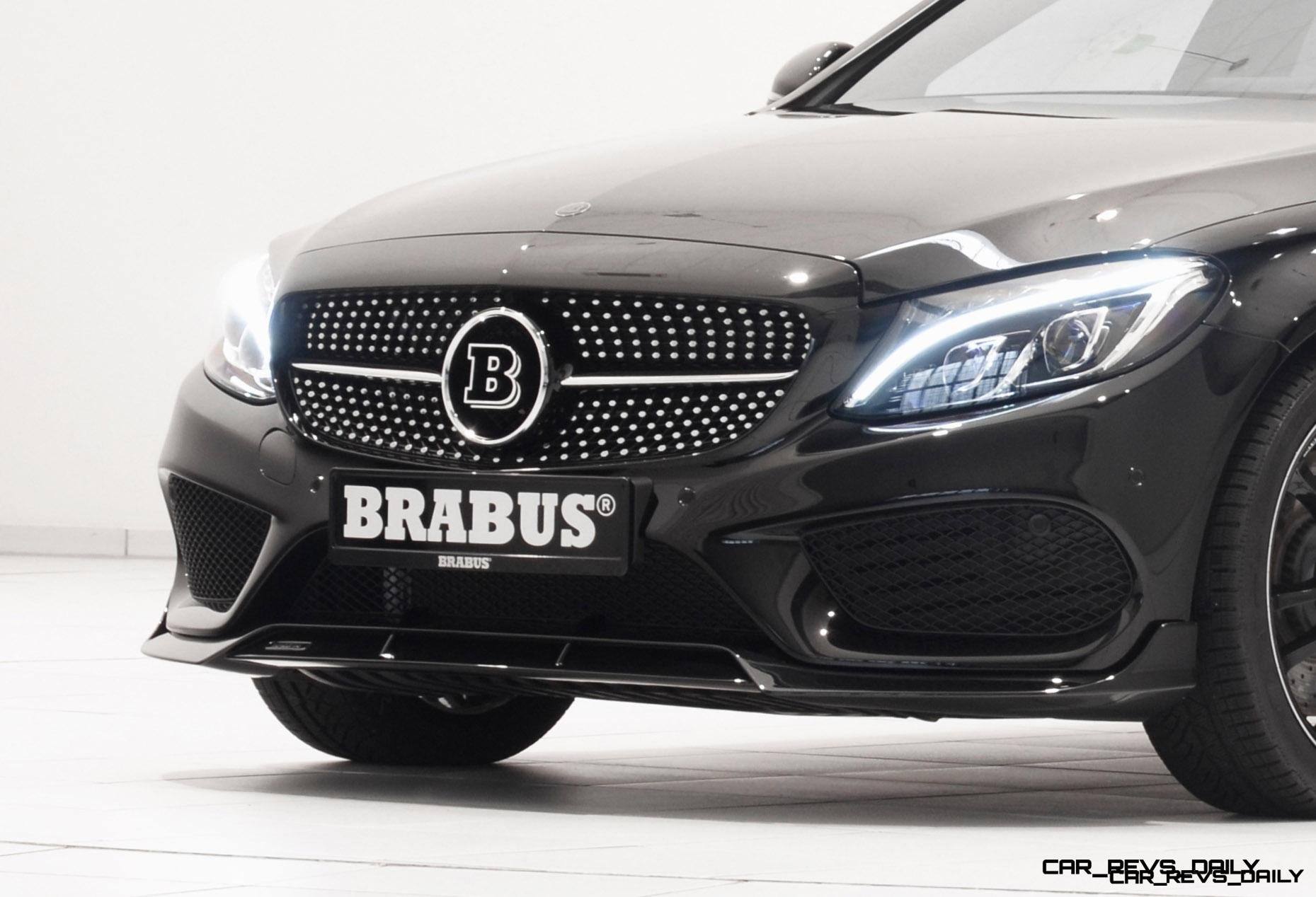 4 4s, 174MPH BRABUS C450 AMG Bumps Power to 410HP Via Now-Warrantied