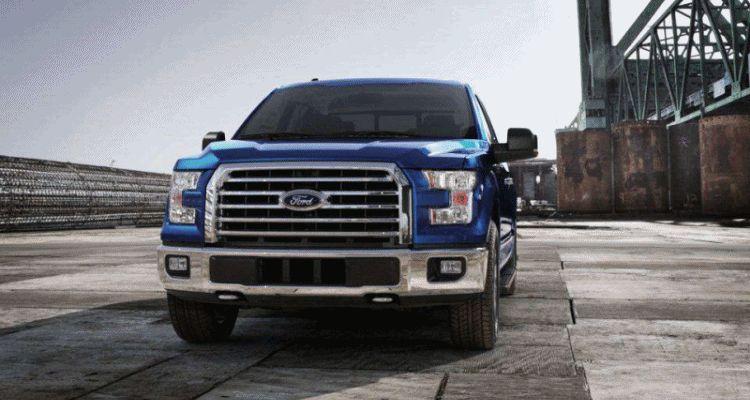 f150 2015 blue