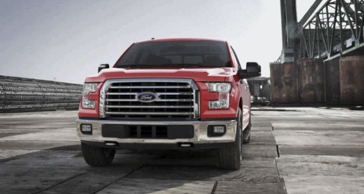 f150 2015 red