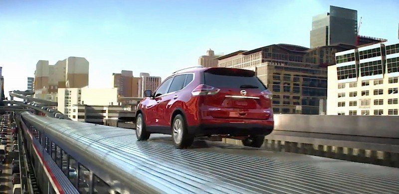 "Nissan Launches ""Full-Throttle Action"" TV Commercial"