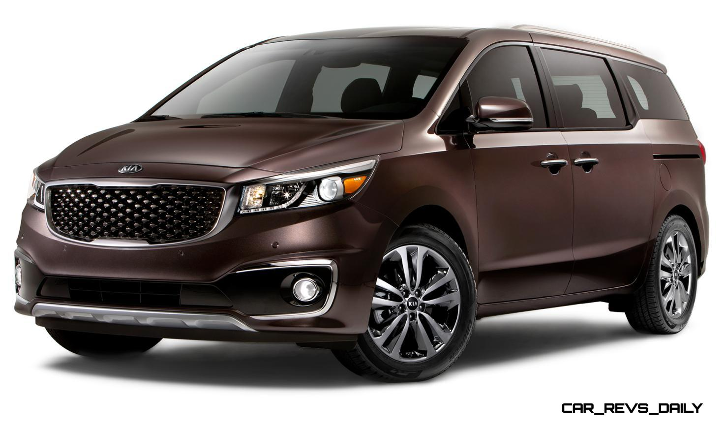 2015 kia sedona becomes seriously competitive with lux style tech and comfy cabin space. Black Bedroom Furniture Sets. Home Design Ideas