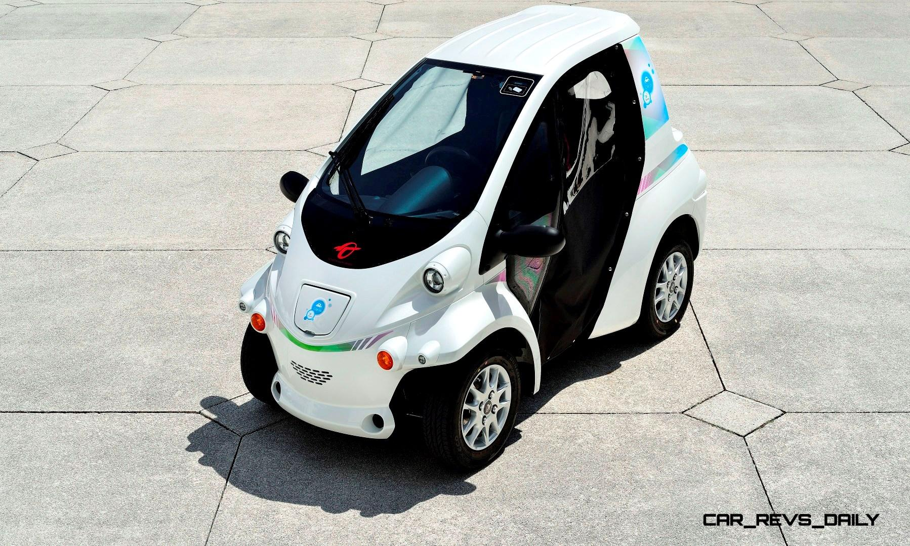 2015 Toyota Iroad And Coms Scooter