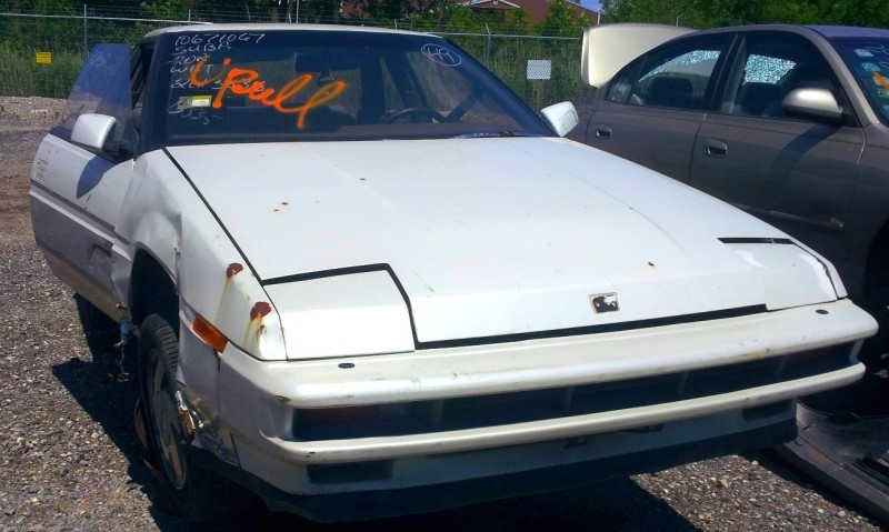 junkyard finds subaru XT6 rare old sports coupe_7346301472_o