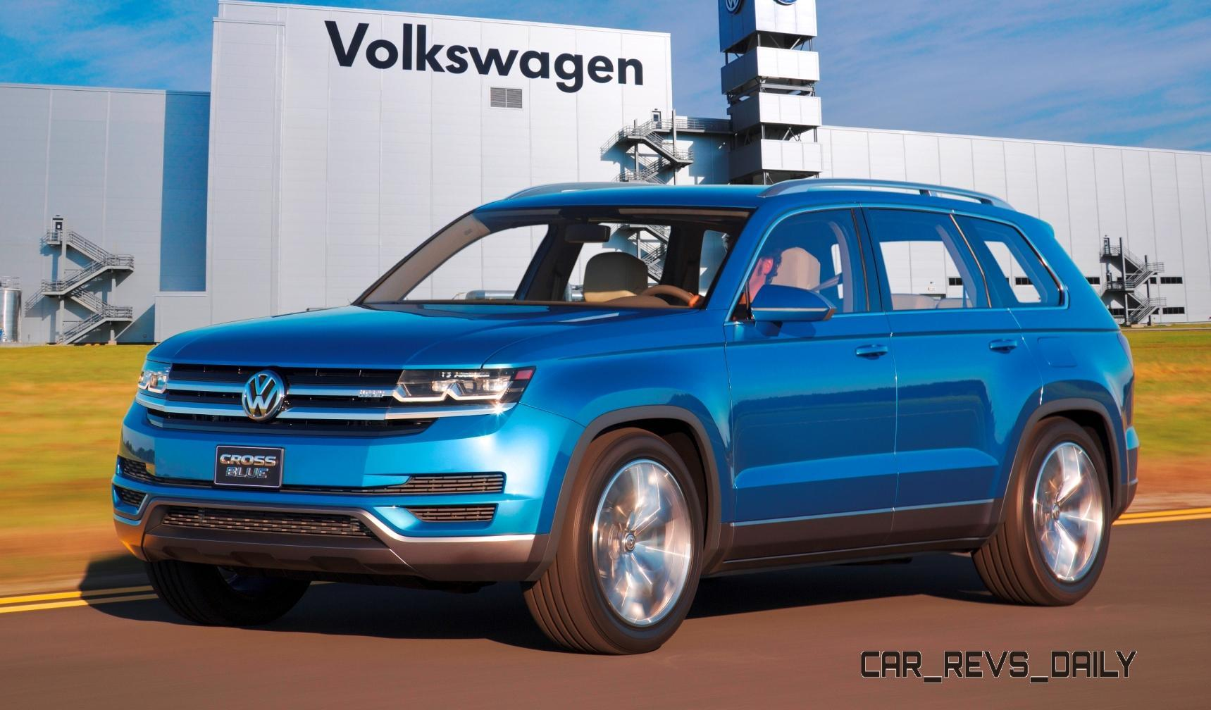 official volkswagen mid size suv will seat 7 be built in usa name tbd. Black Bedroom Furniture Sets. Home Design Ideas