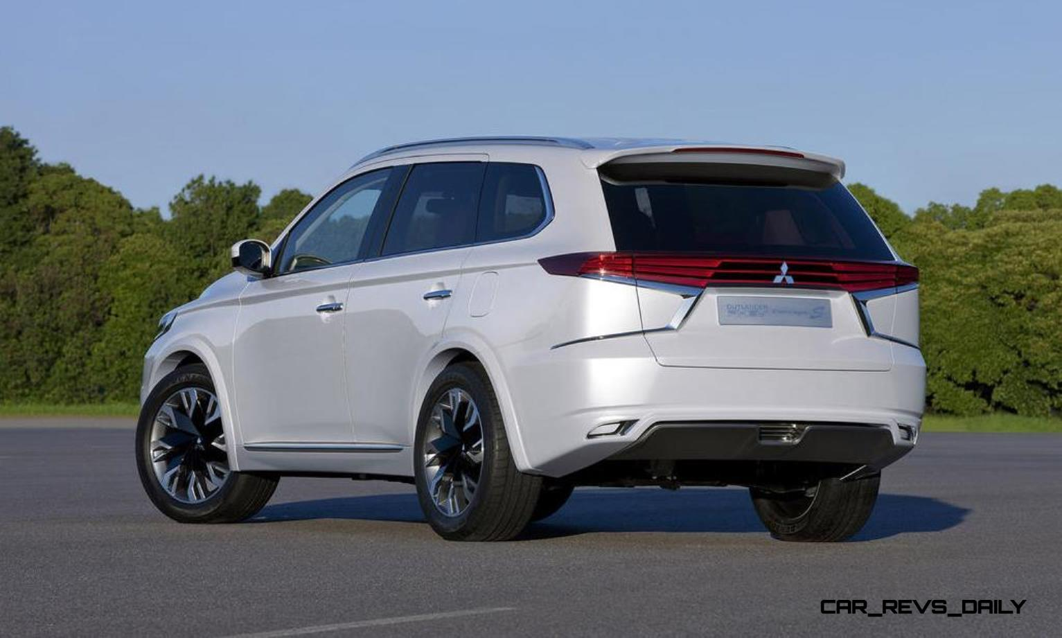 wow 2016 mitsubishi outlander facelift previewed by very stylish outlander phev concept s. Black Bedroom Furniture Sets. Home Design Ideas
