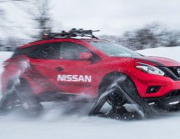 2016 Nissan WINTER WARRIORS!  Murano, Pathfinder and Rogue Get DOMINATOR Tracks
