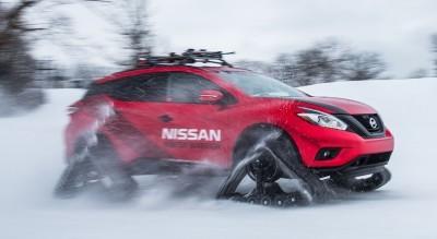 2016 Nissan WINTER WARRIORS! Murano, Pathfinder and Rogue Get DOMINATOR Tracks 2016 Nissan WINTER WARRIORS! Murano, Pathfinder and Rogue Get DOMINATOR Tracks