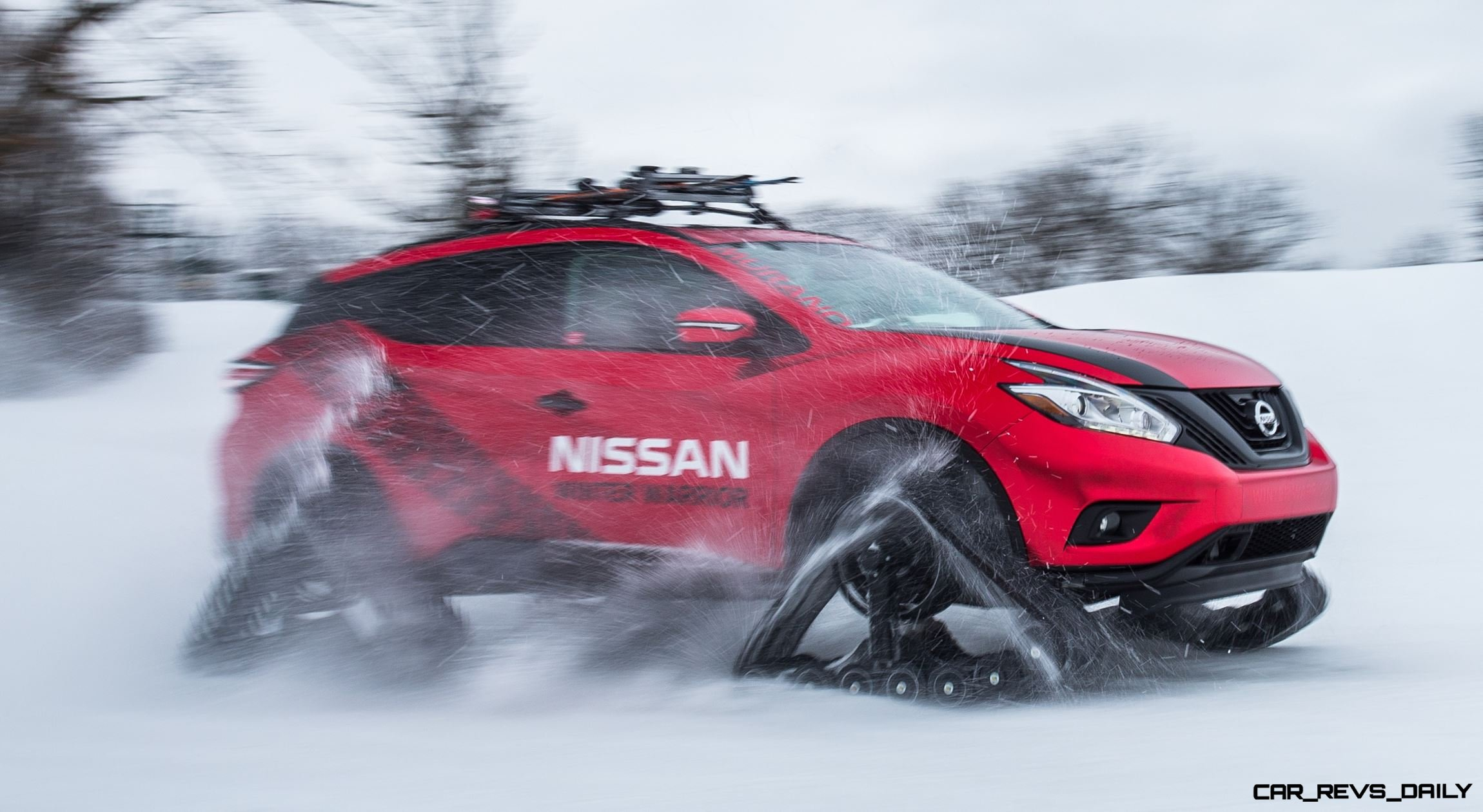 2016 Nissan WINTER WARRIORS!  Murano, Pathfinder and Rogue Get DOMINATOR Tracks